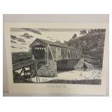 Shavertown Bridge Print