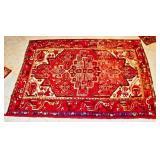 """69"""" X 48"""" Handmade Hamadan Rug"""