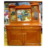 European Oak Sideboard