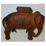 Cast Iron Elephant Bank
