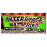 Vintage Battery Sign