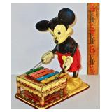 Wind-Up Mickey Mouse Toy
