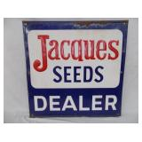 24X24 EMB JACQUES SEEDS DEALER SIGN