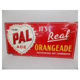 15X29 1952 PAL ORANGEADE SIGN