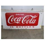 25X50 EMB COKE IN BOTTLE SIGN