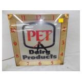 EARLY PET DAIRY CLOCK