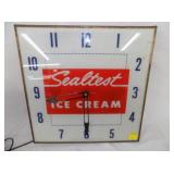 SEALTEST ICE CREAM CLOCK