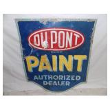 30X36 DUPONT PAINT SIGN