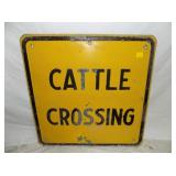 24X24 HEAVY EMB CATTLE SIGN