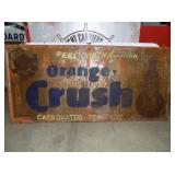 4FTX8FT ORANGE CRUSH SIGN