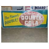 4FTX8FT EMB DOUBLE COLA STORE SIGN