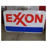 LARGE PORC EXXON SIGN