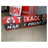 25X84 PORC TEXACO SIGN