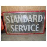 36X64 PORC STANDARD SERVICE SIGN