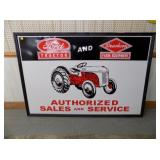 50X74 EMB FORD TRACOTR SIGN