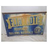 30X47 FLINTKOTE EMB SIGN