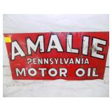 10X20 AMALIE MOTOR OIL SIGN