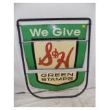 38X48 S&H GREEN STAMPS SIDEWALK SIGN