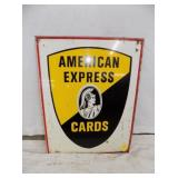 16X21 AMERICAN EXPRESS SIGN