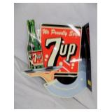 MILENNIUM 7UP FLANGE SIGN
