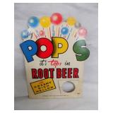 POPS ROOT BEER BOTTLE TOPPER