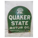 26X29 PORC. QUAKER STATE TOOMSTONE SIGN