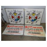 SET 33X34 CAR WASH SIGNS