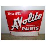 PORC 32X34 AVOLITE PAINTS SIGNS
