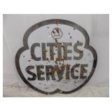 2ND VIEW OTHERSIDE CITIES CLOVER SIGN