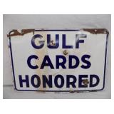 PORC 12X18 GULF CARDS HONORED