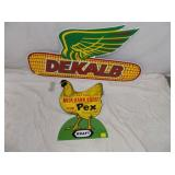 EMBOSSED DEKALB SIGNS