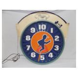 30X31 ANIMATED JOGGER CLOCK