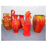 GROU PICTURE RED RANDY TOBIAS POTTERY