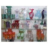 FENTON GLASS MOSER GLASS OTHER