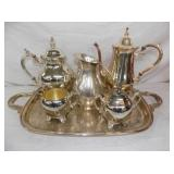 ROGERS SILVERPLATE SERVING SET