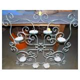 36IN IRON WALL PLANTER