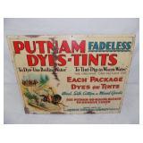 15X19 PUTNAM DYES TINTS CABINET