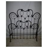 EARLY DOUBLE IRON BED