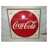 46X46 EMB COCACOLA SIGN