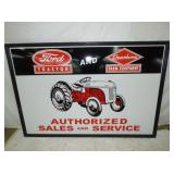 51X74 EMB FORD TRACTOR SIGN