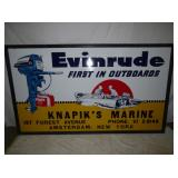 51X86 EMB EVIN RUDE W/ MOTOR SIGN