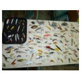GROUP SHOT OF VARIOUS LURES