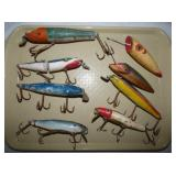 LUCKY LOUIE WOODEN PIKE LURES