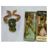 3 PAW PAW FROGS W/ BOX