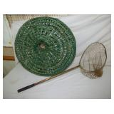 24IN FISHING BASKET & NET