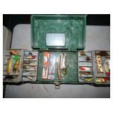 TAKLE BOX, FISHING LURES