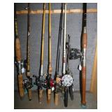 PFLUEGER, PENN, AND OTHERS RODS/REELS