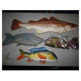 20-36IN FISH WALL ART/DISPLAYS