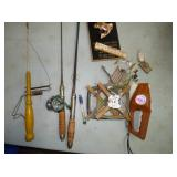 VARIOUS FISHING ITEMS