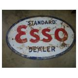 61X92 PORC ESSO DEALER SIGN